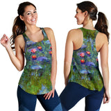 Water Lilies by Monet - Women's Racerback Tank