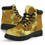 Sunflowers by van Gogh - All-Season Boots