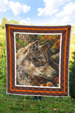 Wolf by Tocher - Art Quilt in 5 sizes
