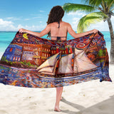 Pt Townsend State of Mind by Tocher - Large Scarf / Shawl / Sarong