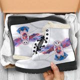 Owl Spirit by Tocher - Faux Fur Boots