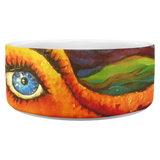 Octopi Port Angeles by Tocher (close up) - Dog Bowl