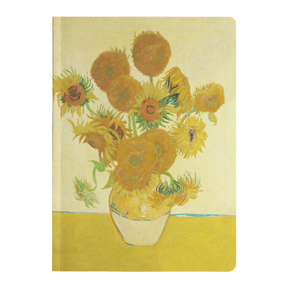 Sunflowers by van Gogh - Paperback Journal