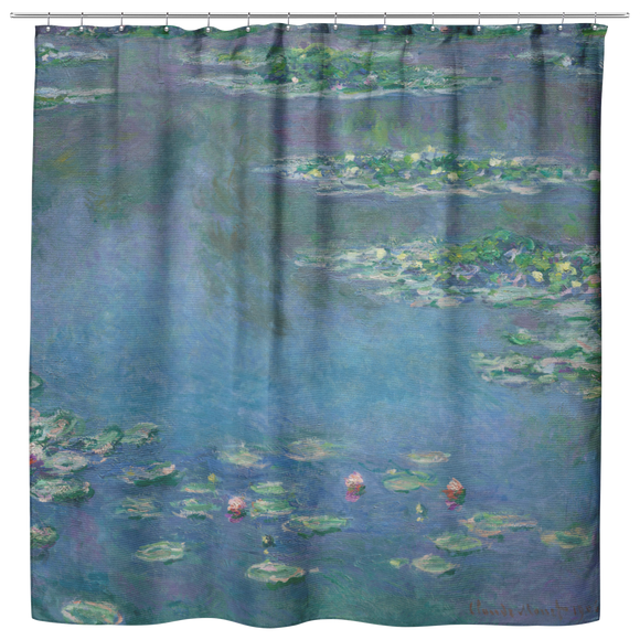Water Lilies by Monet - Shower Curtain