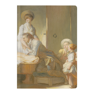 The Visit to the Nursery by Fragonard - Paperback Journal
