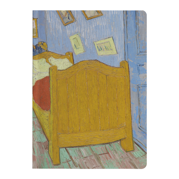 The Bedroom by van Gogh - Paperback Journal