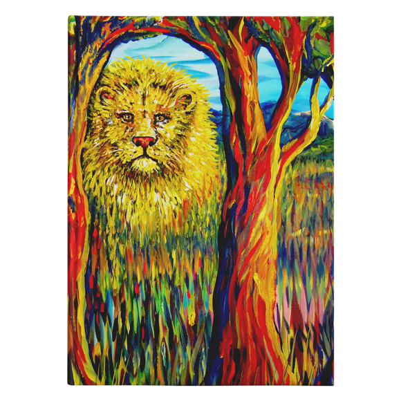 Soul Lion by Tocher - Hardcover Journal