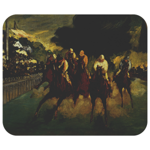 The Races at Longchamp by Manet - Mousepad
