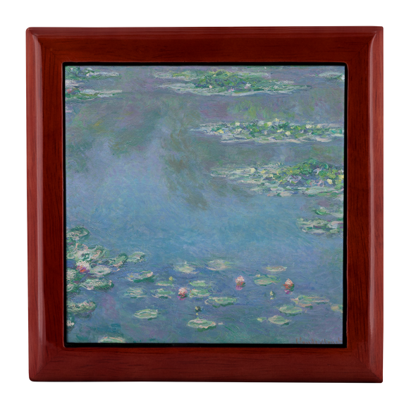 Waterlilies by Monet - Jewelry Box