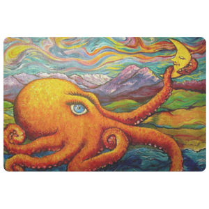 Octopi Port Angeles by Tocher - Doormat