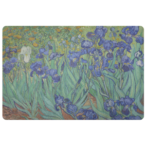 Irises by van Gogh - Doormat