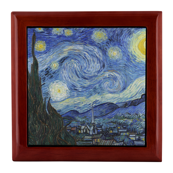 Starry Night by van Gogh - Jewelry Box