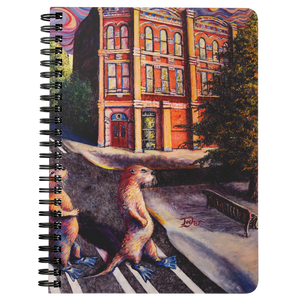 Otter Road by Tocher - Spiralbound Notebook