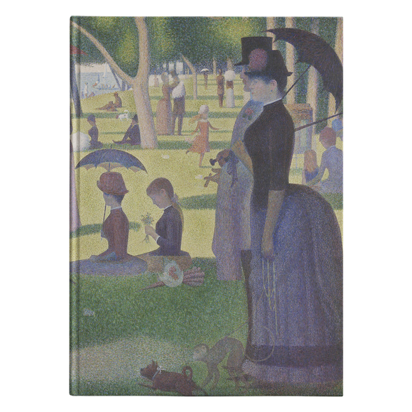 A Sunday on La Grande Jatte by Seurat - Hardcover Journal