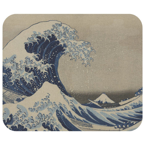 The Great Wave by Hokusai - Mousepad