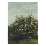 Apple Blossoms by Daubigny - Hardcover Journal