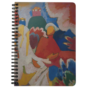 Oriental by Kandinsky - Spiralbound Notebook