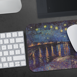 Starry Night over the Rhone by van Gogh - Mousepad
