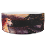 Otter Road by Tocher (close up) - Dog Bowl