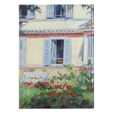 House in Rueil by Manet - Hardcover Journal