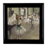 The Ballet Class by Degas - Jewelry Box