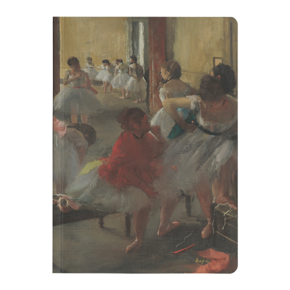 The Dance Class by Degas - Paperback Journals