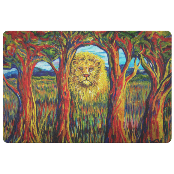 Soul Lion by Tocher - Doormat