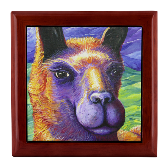 Llama by Tocher - Jewelry Box