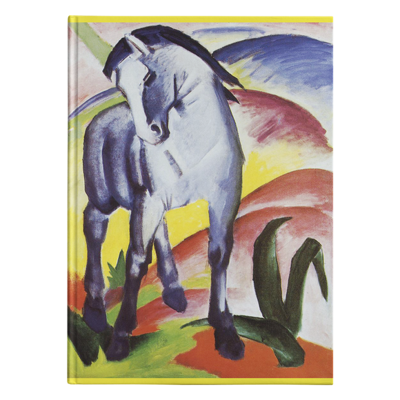 Blue Horse I & II by Marc - Hardcover Journals