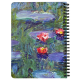 Water Lilies by Monet - Spiralbound Notebook