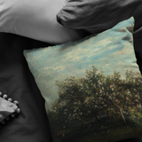 Apple Blossoms by Daubigny - Pillow