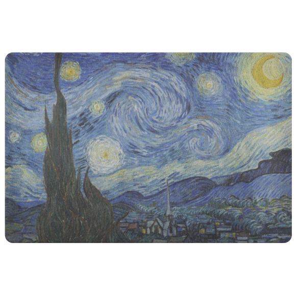 Starry Night by van Gogh - Doormat