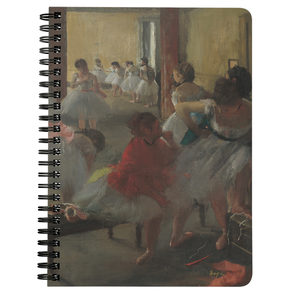 The Dance Class by Degas - Spiralbound Notebook