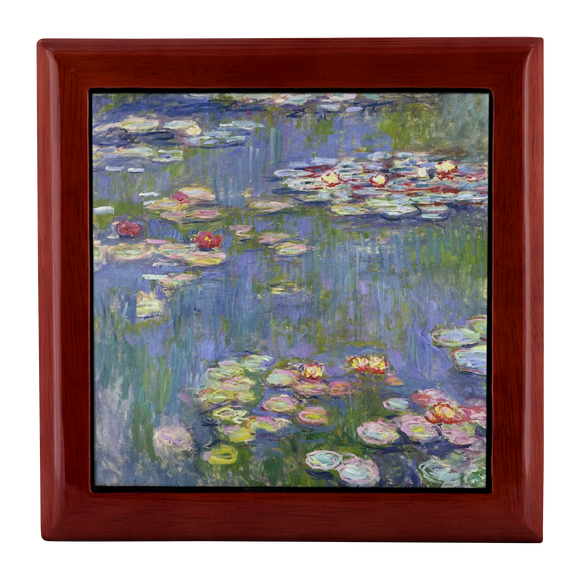 1916 Waterlilies by Monet - Jewelry Box