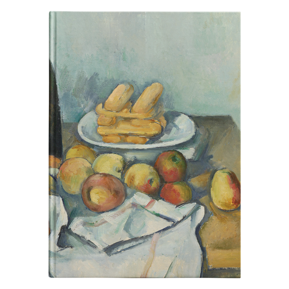 The Basket of Apples by Cezanne - Hardcover Journal