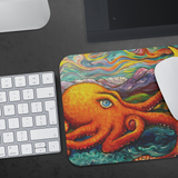 Octopi Port Angeles by Tocher - Mousepad