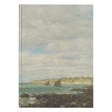 Coast of Brittany by Boudin - Hardcover Journal