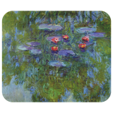 Water Lilies (1919) by Monet - Mousepad