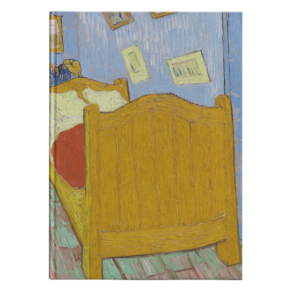The Bedroom by van Gogh - Hardcover Journal