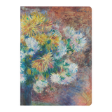Chrysanthemums by Renoir - Paperback Journal
