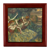 Four Dancers by Degas - Jewelry Box
