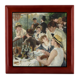 The Luncheon of the Boating Party by Renoir - Jewelry Box