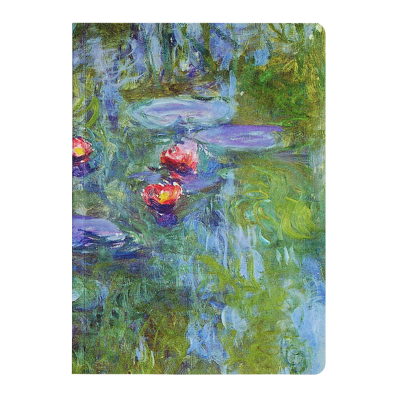 Water Lilies by Monet - Paperback Journal