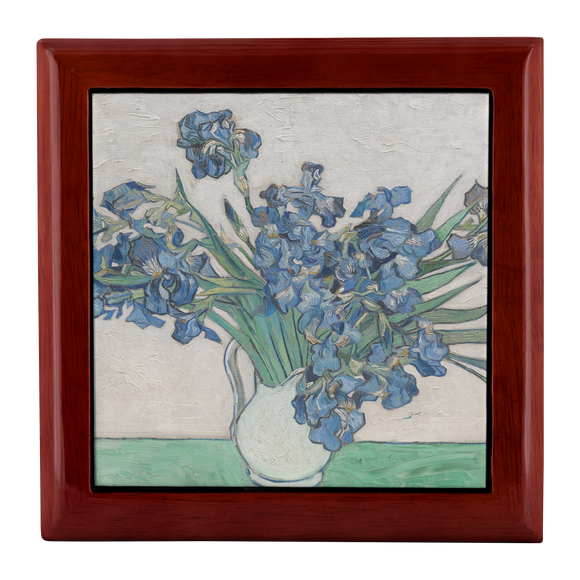 Irises by van Gogh - Jewelry Box