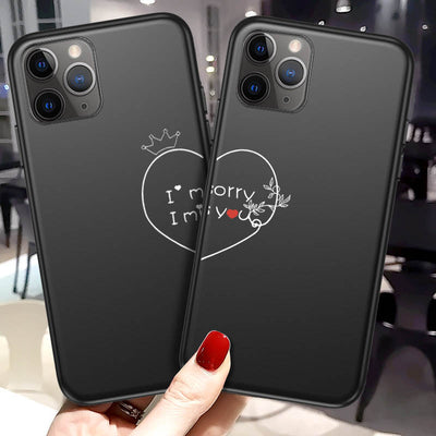 Boyfriend and Girlfriend Phone Cases - I'm sorry I miss you