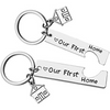 First Home Keychain
