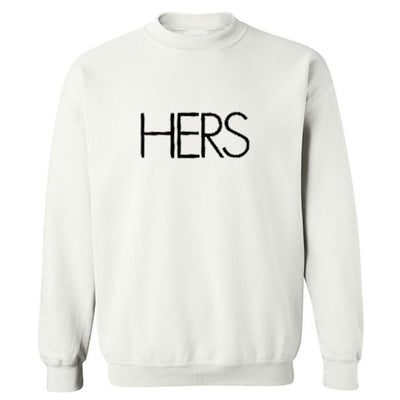 Hers sweatshirt - white