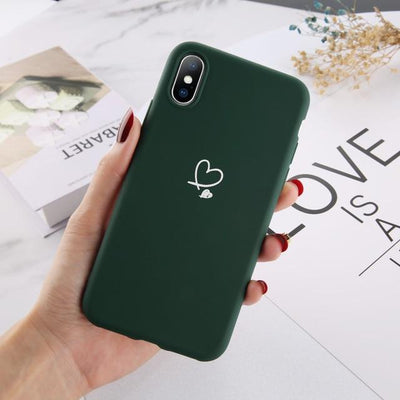 His and Hers Phone Cases - Green