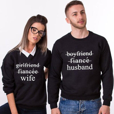 Husband and Wife Sweatshirts