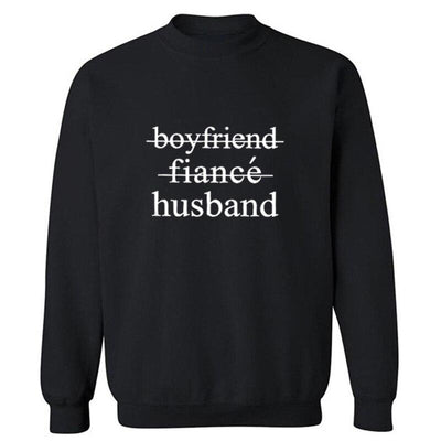 Husband Sweatshirt - black